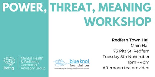 Power, Threat, Meaning Workshop
