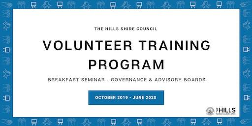 Breakfast Seminar - Governance & Advisory Boards