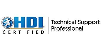 HDI Technical Support Professional 2 Days Virtual Live Training in Kuala Lumpur