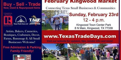 Kingwood Market: Texas Trade Days (4th Sunday)