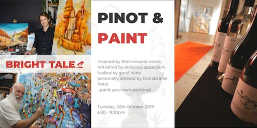 Pinot & Paint | A Night of Art with Donald Waters & Peter Ryan