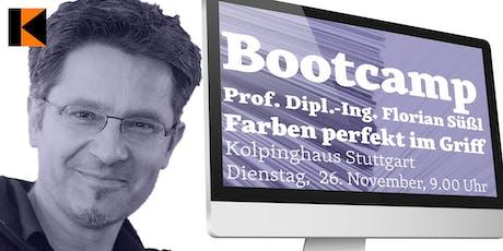 """IDUGS #60 Bootcamp """"Farben fest im Griff"""" Tickets"""