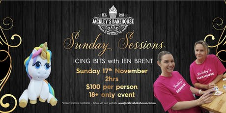 Jackley's Sunday Session: Icing Bits with Jen Brent! tickets