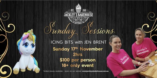 Jackley's Sunday Session: Icing Bits with Jen Brent!