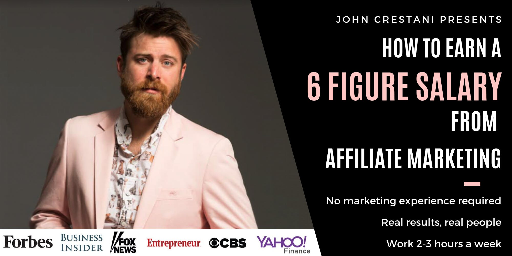 FREE Event - How to Earn 6 Figures with Affiliate Marketing, 2-3 Hours Work p/w [WEBINAR]