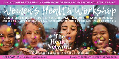 The Health Network: Women's Health Workshop October 2019 tickets