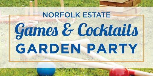 Pimms and Croquet Garden Party