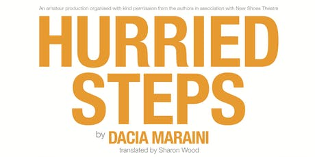 Hurried Steps: Performance and Forum tickets