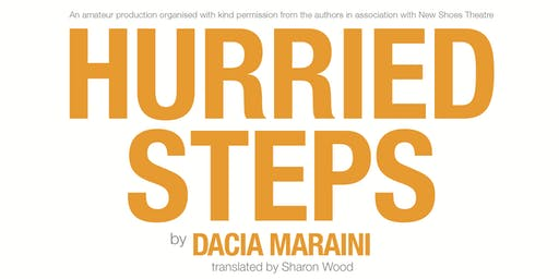 Hurried Steps: Performance and Forum