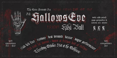 "☩ the COVEN ☩ presents an... 'All Hallows Eve Kiki Ball"" tickets"