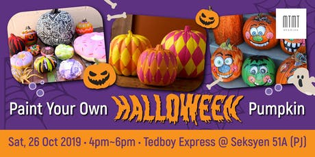 PUMPKIN PAINTING PARTY - Halloween Special with Tedboy Bakery tickets