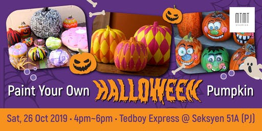 PUMPKIN PAINTING PARTY - Halloween Special with Tedboy Bakery