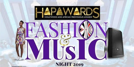 HAPAwards Music and Fashion Night tickets