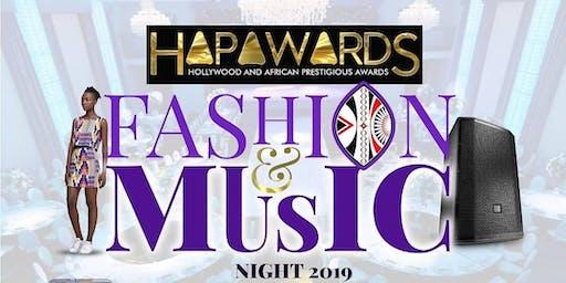 HAPAwards Music and Fashion Night