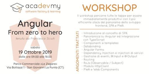 Angular Workshop - From zero to hero