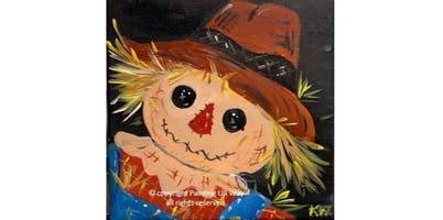 Paint & Eat - Scarecrow (12x12 Canvas) (2019-10-24 starts at 6:30 PM)