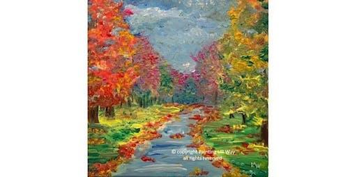 Fall Impressions (12x12 Canvas)  (2019-10-20 starts at 3:00 PM)