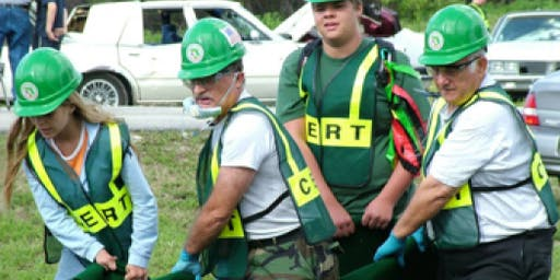 Weekend CERT Basic Training Course, Fall 2019 (Dec. 6, 7, 8 & 14)