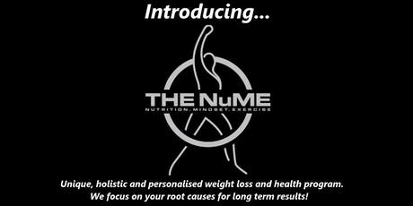 """THE NuME"" - unique, and holistic weight loss and health program tickets"