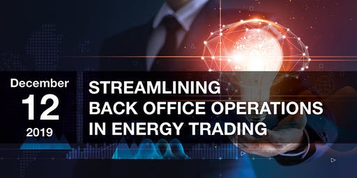 Streamlining Back Office Operations in Energy Trading