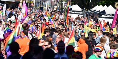 EARLY BIRD ENTRY TO  Bolton Pride Parade 2020