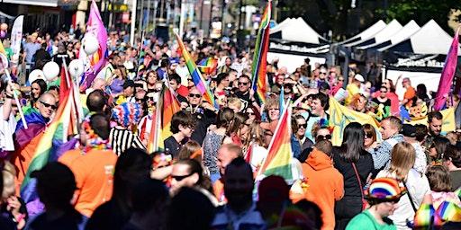 EARLY BIRD ENTRY TO  Bolton Pride Parade 2020