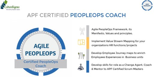 APF Certified PeopleOps Coach (APF CPC)™ | Edison, New Jersey |Nov 23 - Nov 24, 2019