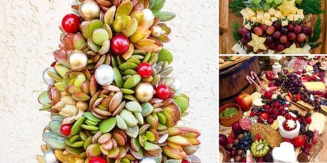 Xmas grazing table and succulent Xmas tree design workshop tickets