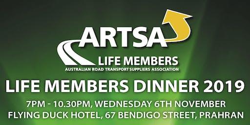ARTSA Life Members Dinner
