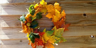 Woodland inspired Home Deco Workshop - Autumn