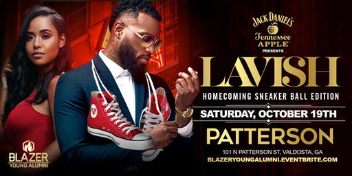 """LAVISH"" The Official Blazer Alumni Homecoming Party"""