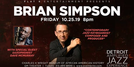 Detroit Amplified Jazz Experience - Brian Simpson tickets