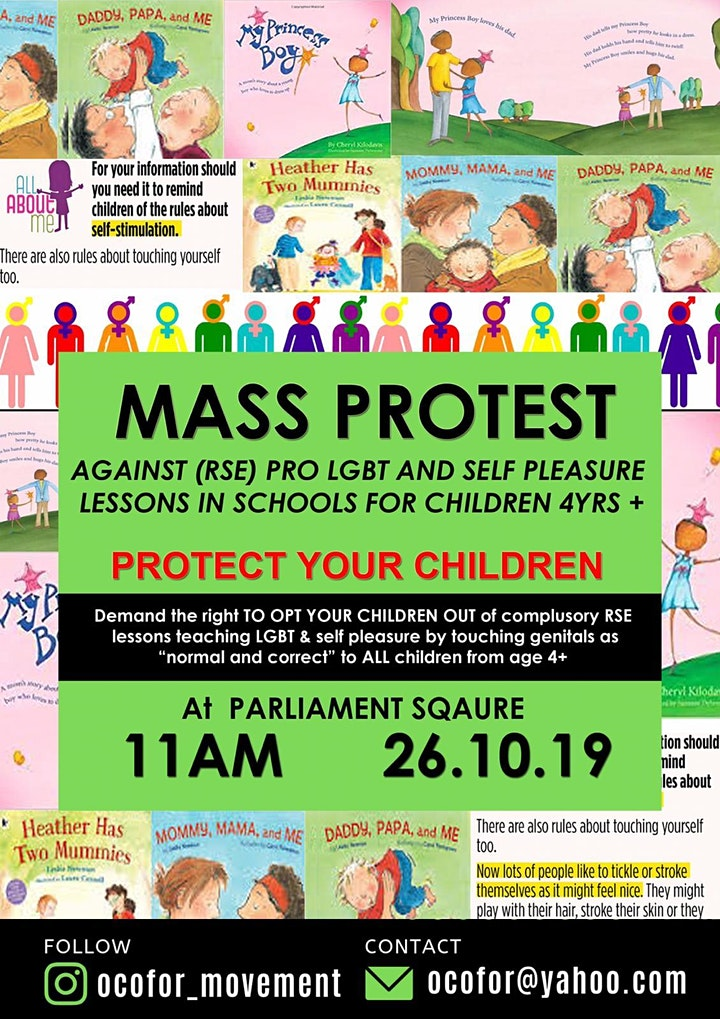 Mass protest: Right To Opt Out of RSE image