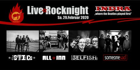 Live Rocknight im Indra Tickets