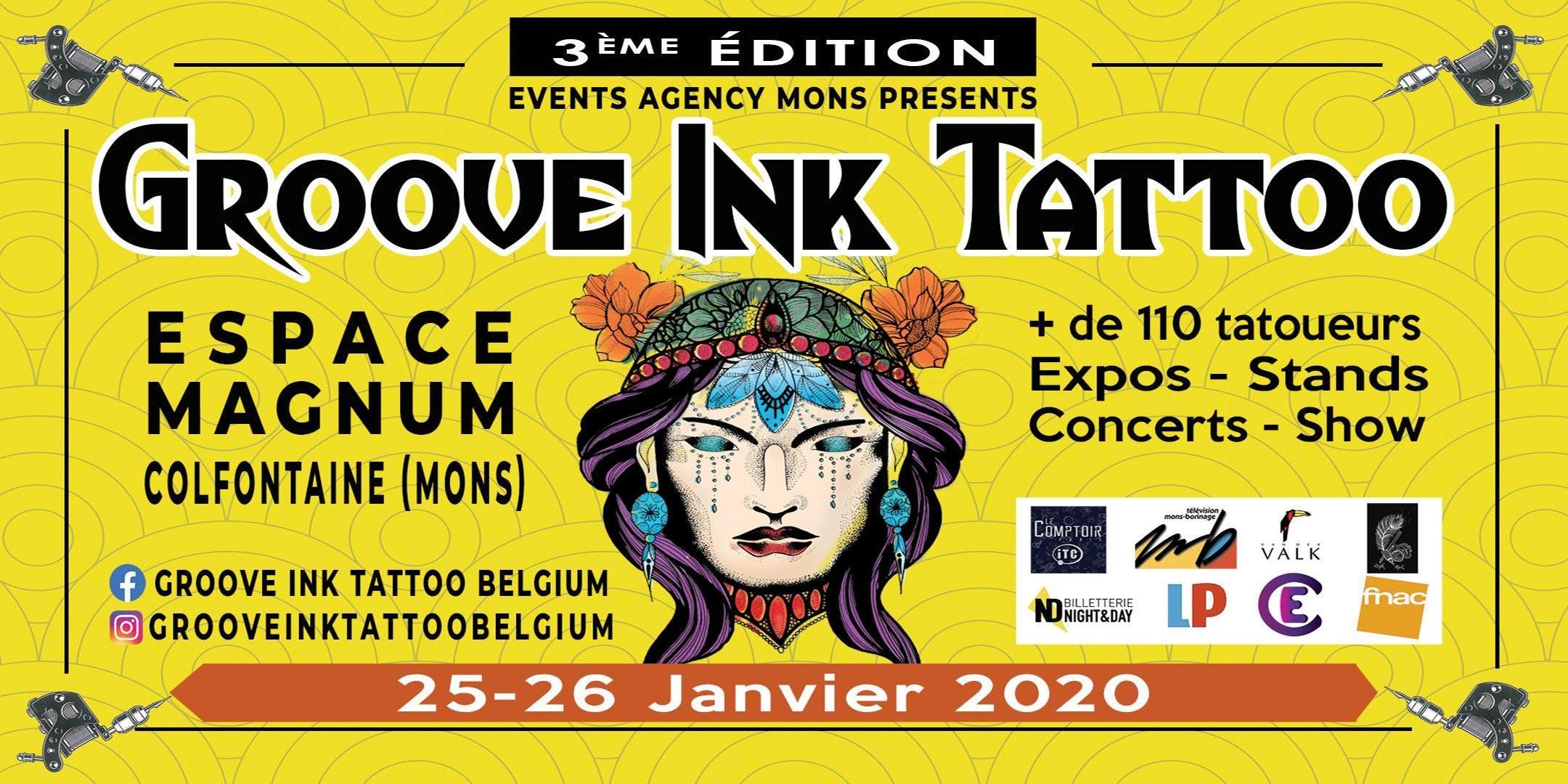 Groove Ink Tattoo Belgium 2020
