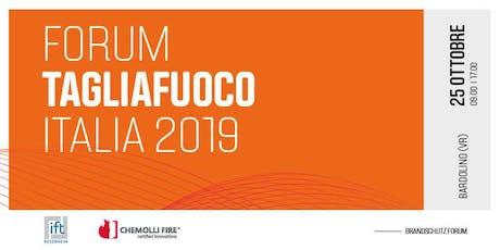 Forum Tagliafuoco Italia biglietti