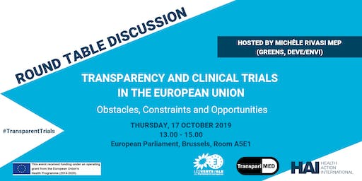 Transparency and Clinical Trials in the EU: Obstacles and Opportunities