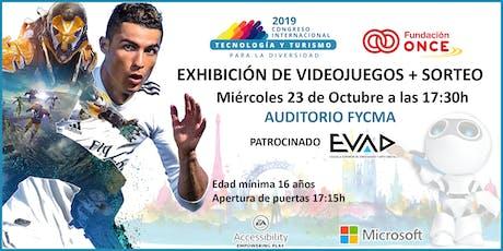TTD CONGRESS Exhibición de videojuegos + SORTEO tickets