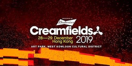 Creamfields Hong Kong 2019 tickets