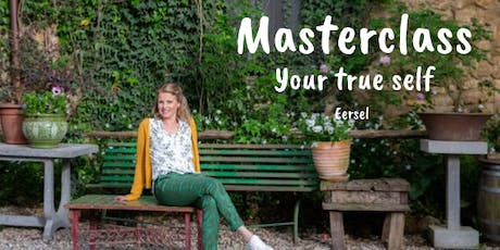 Masterclass be your true self tickets