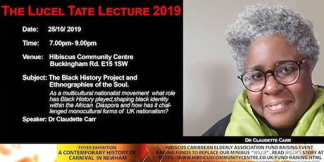 Lucel Tate Lecture 2019 tickets