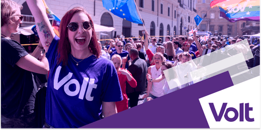 March for a united Europe with Volt UK!