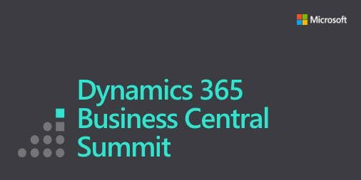 Microsoft Dynamics 365 Business Central Summit