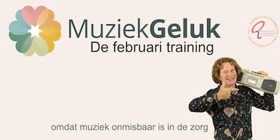 MuziekGeluk de Februari Training