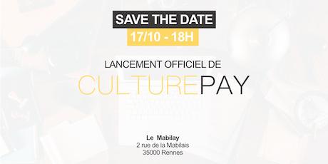 Lancement officiel de CulturePay.fr billets