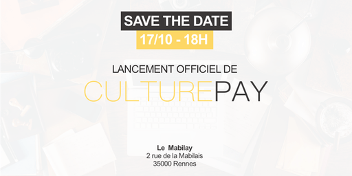 Lancement officiel de CulturePay.fr