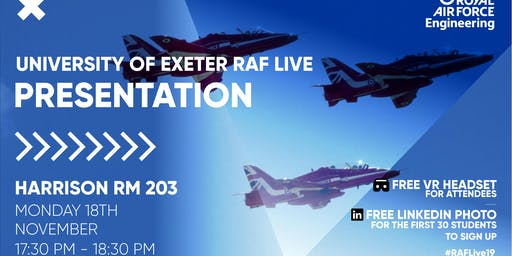 RAF LIVE PRESENTATION - University of Exeter