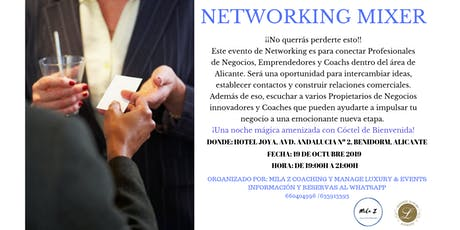 NETWORKING MIXER entradas