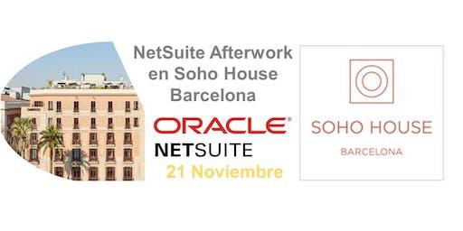 NetSuite Afterwork en Soho House Barcelona