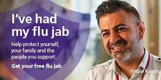 BCC flu vaccinations - 24 October